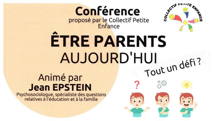 You are currently viewing Conférence – Être parents aujourd'hui