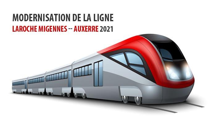 You are currently viewing Modernisation de la ligne Laroche Migennes — AUXERRE