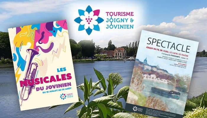 You are currently viewing Les Musicales du Jovinien & Spectacle Les Gens de Rivière