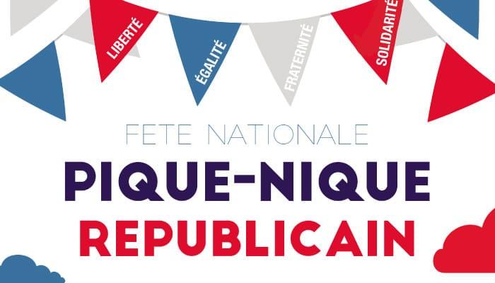 Read more about the article Pique-nique républicain 13 juillet 2021