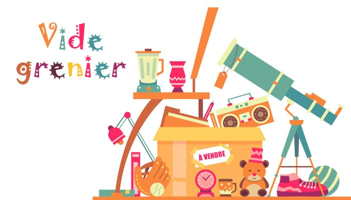 You are currently viewing Vide-grenier – Dimanche 25 juillet 2021